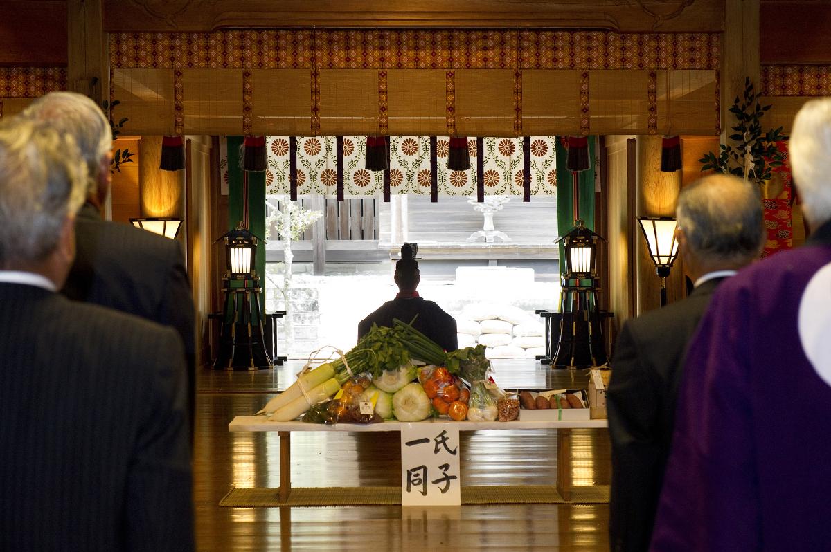 平成29年11月23日「新嘗祭」を斎行いたします