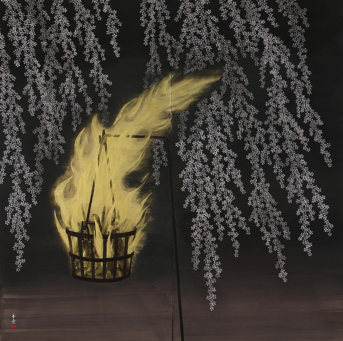 日本画の精華~栗原幸彦展~''富士や桜、龍、花鳥画''平成30年3月30日(金)~4月15日(日)