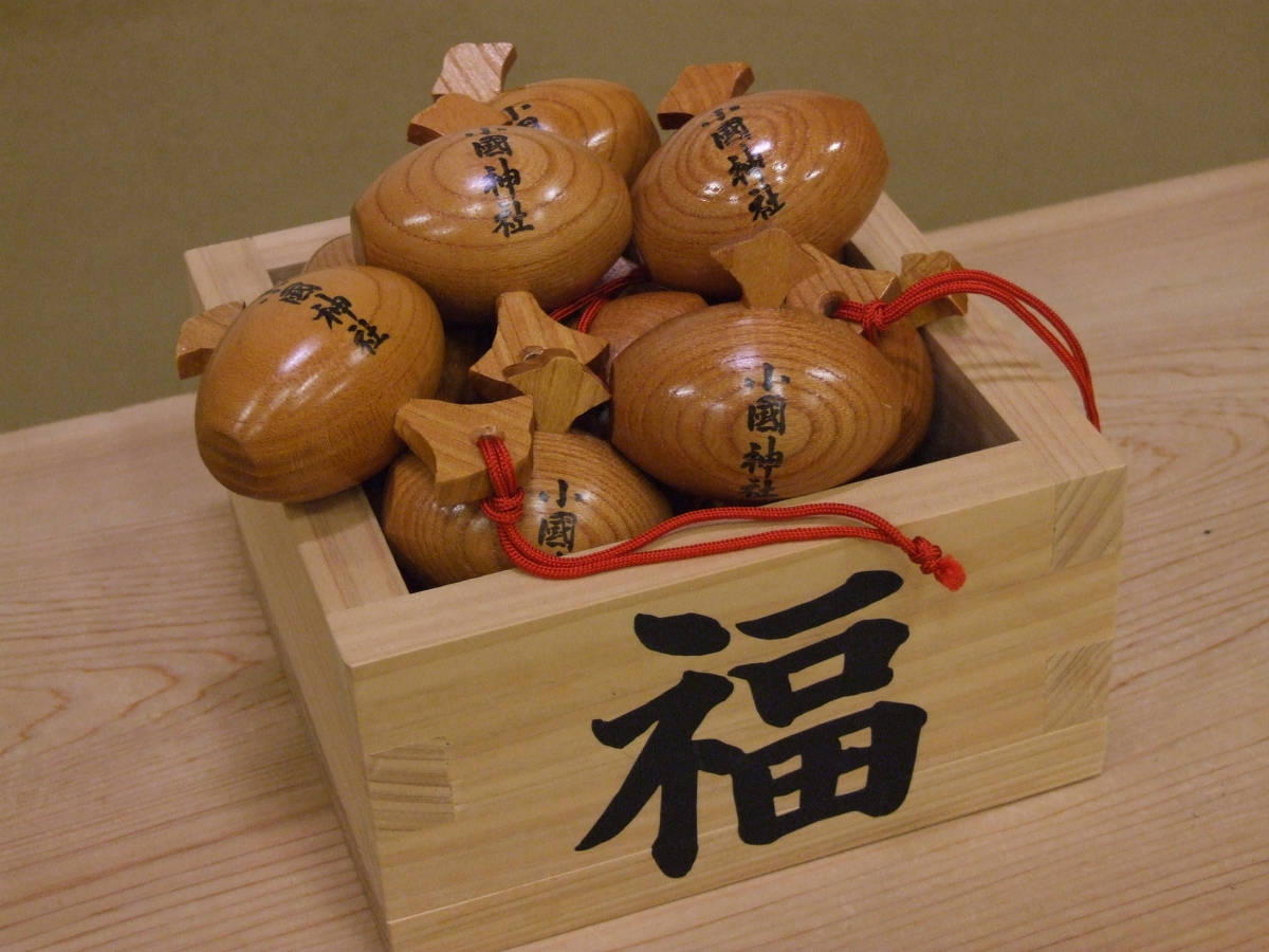 福徳円満・縁結び・開運招福!!! だいこく様の縁起物『木小槌』の奉製が整いました。