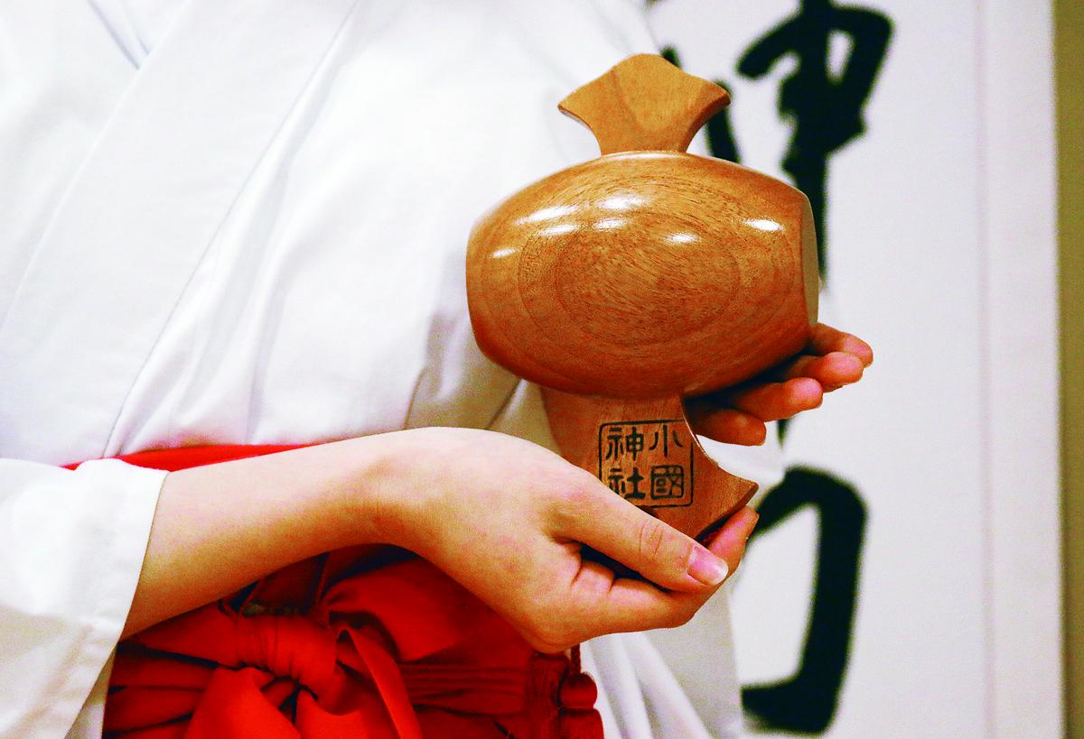福徳円満・開運招福・縁結び!!だいこく様の縁起物『宝槌』の奉製が整いました。