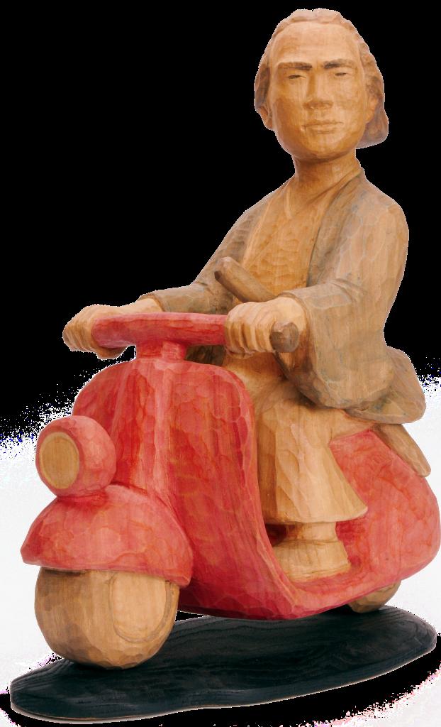 【開催中】笑って元気に!『岩崎祐司のパロディ木彫展』【~8月26日まで】